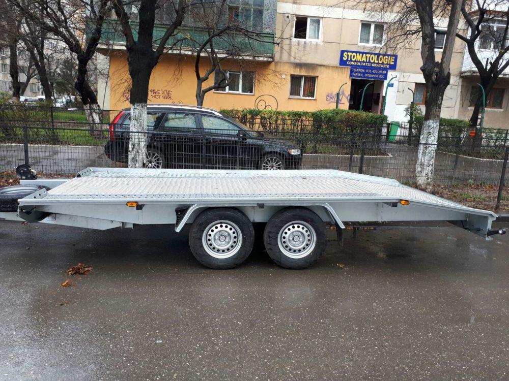 Inchiriere platforma auto 2700 Kg 4,5 m
